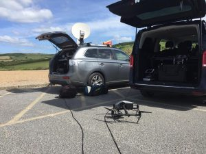 ITV This Morning liveU Live DroneBroadcast